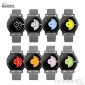 情人節禮物 譯時Enmex創意設計手錶 創意相機概念色彩系列 簡潔『CR水晶鞋坊』