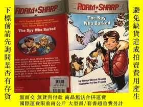 二手書博民逛書店the罕見spy who barked 吠叫的間諜Y200392