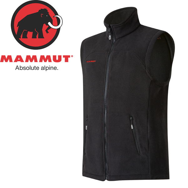 【MAMMUT 男 Innominata Vest 刷毛背心《黑》】1010-21810/刷毛背心