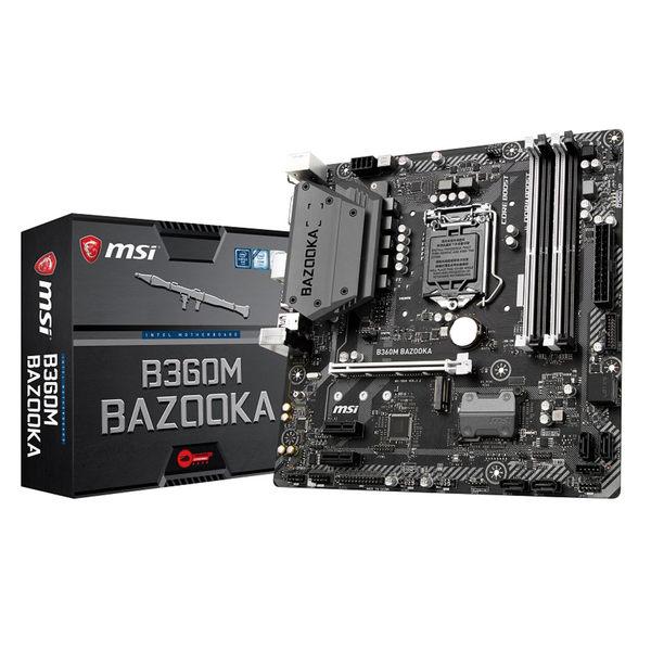 Intel i5-8400+微星 B360M BAZOOKA+微星 GTX 1660 Ti ARMOR 6G OC+保銳 ENERMAX 銅牌 500W