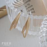 限量現貨◆PUFII-耳環 彎月線條鏤空耳環-0323 現+預 春【CP18206】