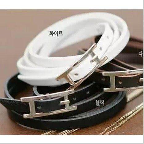 ►韓版男女通用情侶版 多層皮手帶式造型手鏈 手飾【B3065】