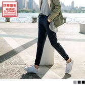 《KS0445》台灣製造~抗UV保暖磨毛腰鬆緊縮口運動長褲 OrangeBear