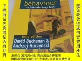 二手書博民逛書店organizational罕見behaviour an introductory text:third edit