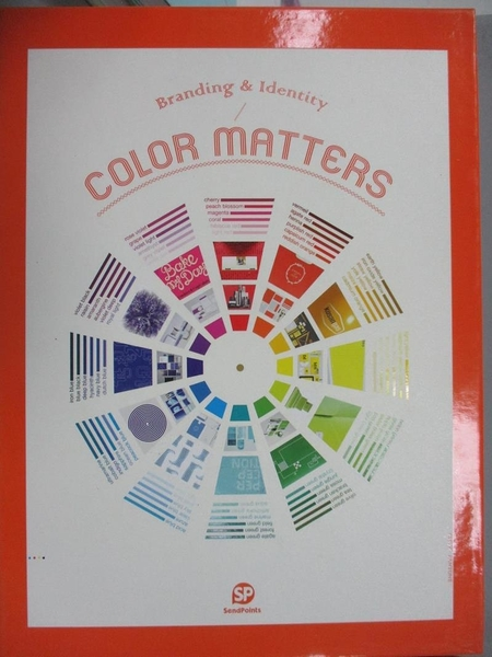 【書寶二手書T8/廣告_QIE】Color Matters_SEND POINTS(ed.)