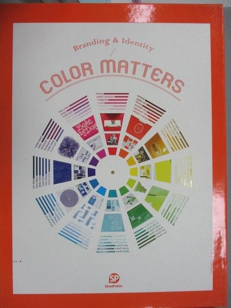 【書寶二手書T6/廣告_QIE】Color Matters_SEND POINTS(ed.)