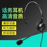 客服耳機電話耳機客服耳麥話務員頭戴式耳麥【快速出貨】