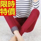 牛仔褲保暖加絨-伸縮修身顯瘦微彈力女長褲子5色63e11【巴黎精品】