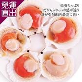 勝崎生鮮 極鮮半殼扇貝6包組 (325公克±10%/1包)【免運直出】