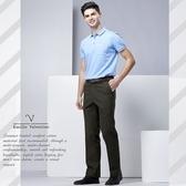 【Emilio Valentino】范倫鐵諾都會型男平面休閒褲_咖啡