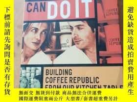 二手書博民逛書店英文原版罕見Anyone Can Do It: Building Coffee Republic from our