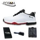 高爾夫球鞋 男士防水運動鞋 緩震中底防側滑鞋 GSH108WBLK