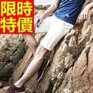 男短褲韓版休閒-明星款運動風新品優質精梳棉男褲子11色54n9【巴黎精品】