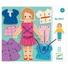 DJECO智荷 寶寶玩玩樂系列 女孩服裝穿線板 DJ01691【佳兒園婦幼館】