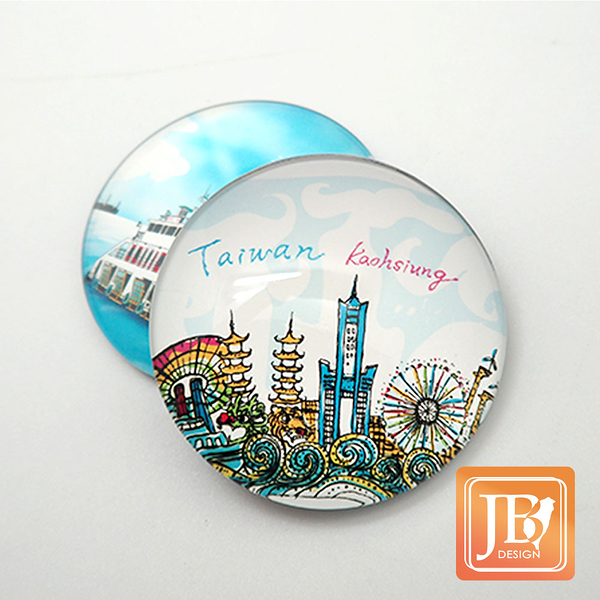 JB Design-玻璃磁鐵-192_繽紛樂高雄