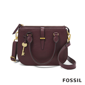 FOSSIL RYDER 小資女孩約會必備紫色手提側揹兩用包 ZB7811503
