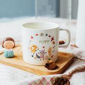 杯子/骨瓷杯 非非新骨瓷馬克杯兔子狐貍卡通家用杯子陶瓷水杯咖啡杯早餐牛奶杯 酷我衣櫥