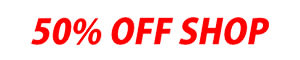 50% off SHOP