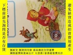 二手書博民逛書店RED罕見RIDING HOOD英文版 小紅帽 (盒裝--光盤+硬精裝書籍)Y23583