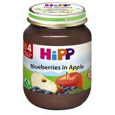 HiPP喜寶 有機蘋果小藍莓泥125g