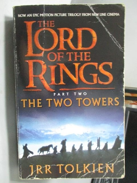【書寶二手書T6/原文小說_LAH】The Lord of the Rings_Part Two