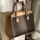 手提包女包2021新款夏季中年女士包包時尚大氣大容量斜挎包媽媽包 【快速出貨】