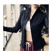 新春狂歡 新款健身外套女拉鏈開衫立領長袖夾克緊身顯瘦速干跑步運動瑜伽服 艾尚旗艦店