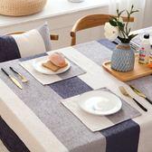 茶几桌布 餐桌布布藝 棉麻小清新風格歐式正長方形茶几桌布台布迷你風