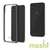 {原廠公司貨}Moshi Vitros iPhone XS Max 超薄透亮保護外殼 - 烏黑