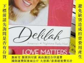 二手書博民逛書店Love罕見Matters: Remarkable Love S