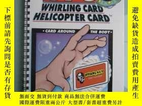 二手書博民逛書店B000HMF8IA罕見The UFO Whirling Card Helicopter Card The Ult