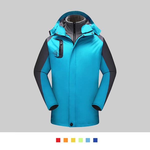 【晶輝團體制服】SS1178*經典二件式防風防潑水衝鋒外套(似GORE-TEX)可單買/ 代印公司LOGO