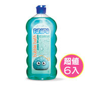 【澳洲Natures Organics】植粹兒童泡泡洗髮沐浴露1Lx6入