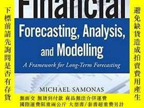 二手書博民逛書店Financial罕見Forecasting, Analysis