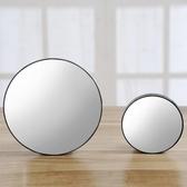十倍放大化妝鏡便攜鏡粉刺毛孔放大鏡子臉部挑黑頭拔白頭美容工具 三角衣櫃