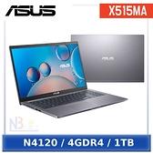ASUS X515MA-0341GN4120 星空灰(N4120/4G/1TB/W10/FHD/15.6)