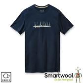 【SmartWool 美國 男 Merino Sport 150 好友時光T恤《深海軍藍》】SW016281/排汗衣/ 機能衣