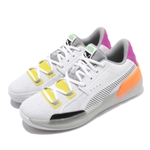 Puma 籃球鞋 Clyde Hardwood Retro 白 黑 橘 男鞋 低筒 運動鞋 【PUMP306】 19404501