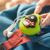 Cord Pocket 耳機收納捲線器收線扣-企鵝