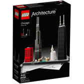 樂高LEGO Architecture 世界經典建築 Chicago 芝加哥 21033 TOYeGO 玩具e哥