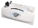 【麗室衛浴】國產壓克力造型浴缸 LS-7190E 170*90*外H57CM 含固定式前牆一面