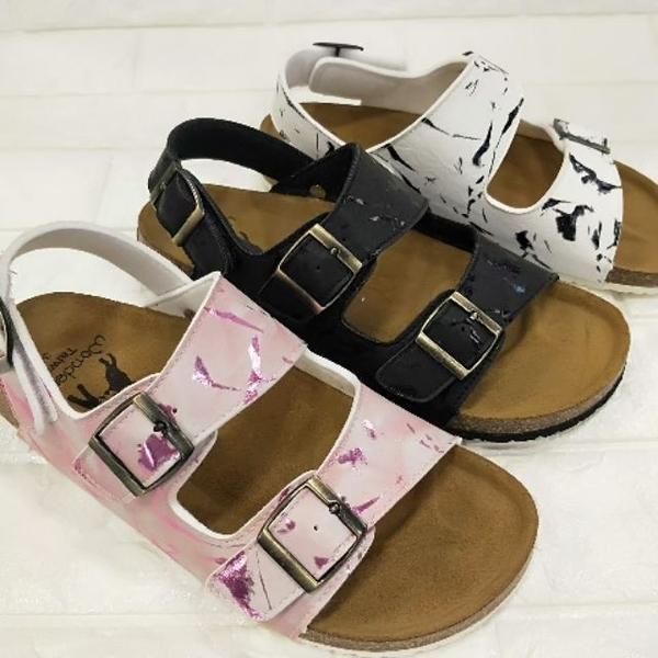 W9922 愛麗絲的最愛 Local Dog勃肯鞋MIT 勃肯涼鞋(吸汗牛皮中底)