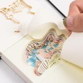 立體便簽紙3D便利貼紙雕模型手撕便簽紙本【英賽德3C數碼館】