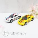 ﹝合金迴力車43號﹞正版 迴力車 機車 模型車 玩具車〖LifeTime一生流行館〗