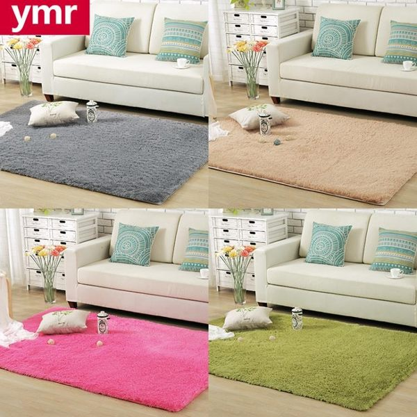 地毯 加厚絲毛簡約現代客廳臥室茶幾飄窗榻榻米床邊地毯滿鋪