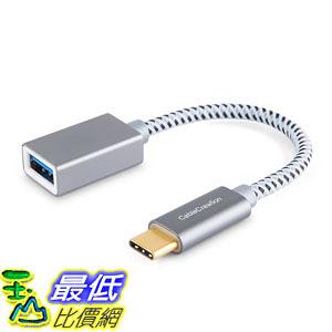 適配器 USB C Adapter, CableCreation 0.5 Feet Type C to USB 3.1 Gen1 Female Adapter OTG (on-the-go)