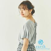 ❖ Hot item ❖ 立體蝴蝶結喇叭袖上衣 - earth music&ecology
