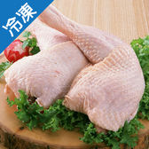 美國進口雞腿1包(4入/包)【愛買冷凍】