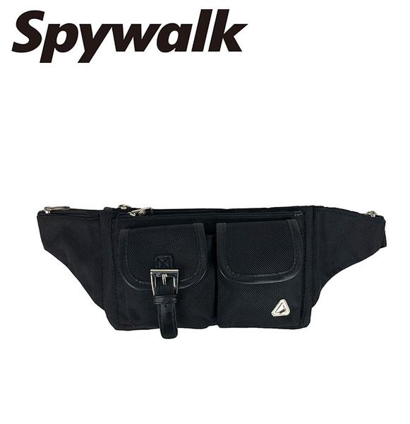 SPYWALK 簡單兩袋式腰包 NO:2637-1
