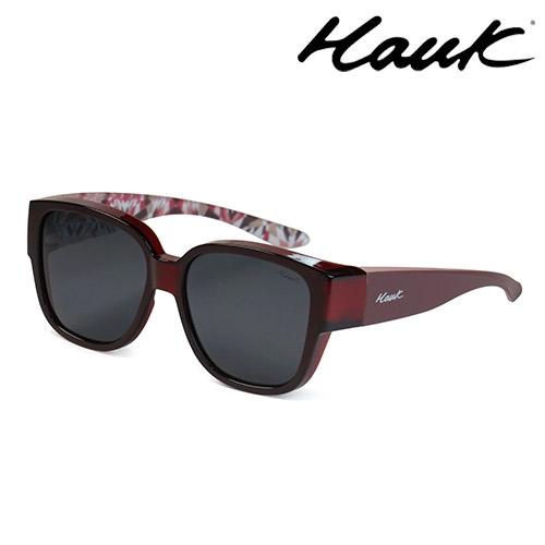 HAWK 新型薄框偏光太陽眼鏡套鏡(2用)HK1026-09A